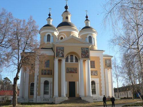 Свято-Успенский Вышенский женский монастырь, с. Быкова Гора