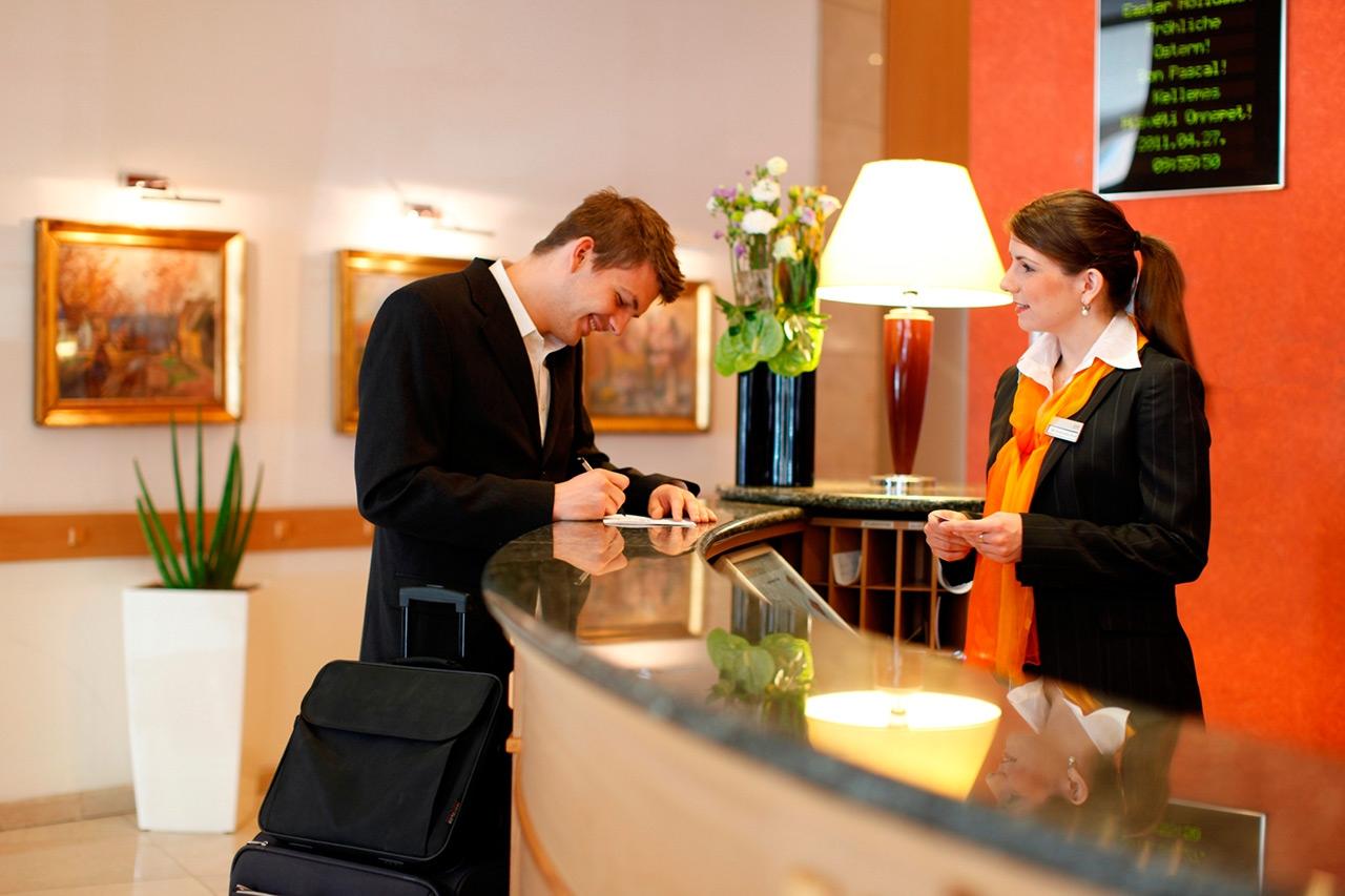 Картинка администратор гостиницы