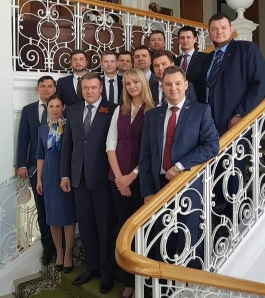 Встреча губернатора Николая Любимова с молодыми рязанцами - финалистами и полуфиналистами конкурса«Лидеры России»
