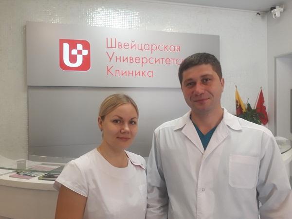 Роман Симаков с женой Евгенией