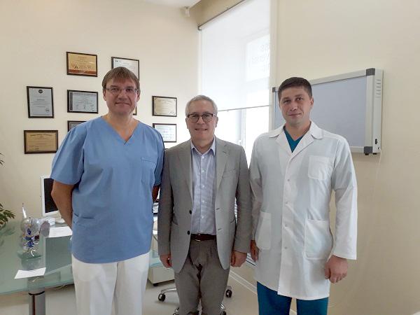 (Слева направо) Константин Пучков, Алексей Чжао, Роман Симаков
