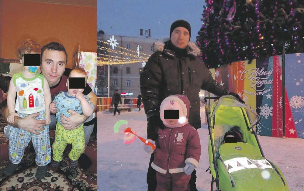Игорь Пухов с детьми