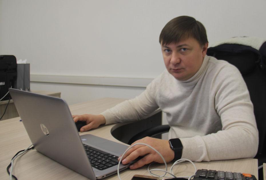 Руководитель отдела продаж АО «Касимовнеруд» Игорь Петров