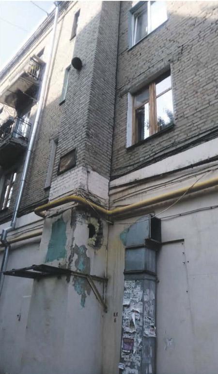Вентиляционная шахта ул. Октябрьская, д. 8