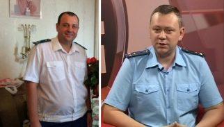 Слева: новый рязанский прокурор Алексей Сидоров, справа - новый липецкий транспронтый прокурор Андрей Широков