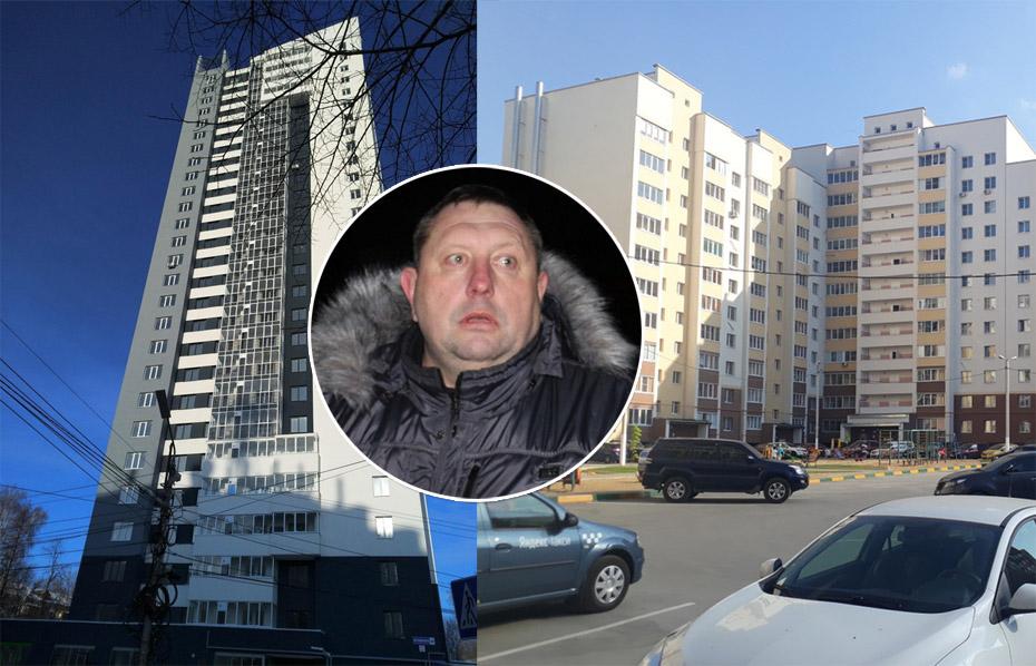 Слева - Островского, 16, справа - Кальная, 44 корп 1. В центре - Александр Кулаев