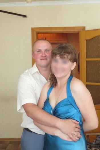Антон Франчиков с женой
