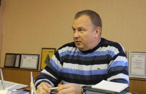 Директор ЗАО«Победа» Захаровского района Вячеслав Кабанов