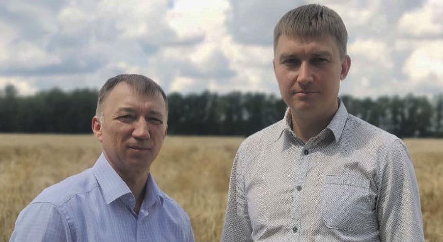 Сергей Свеженцев (слева) и Алексей Горбатов